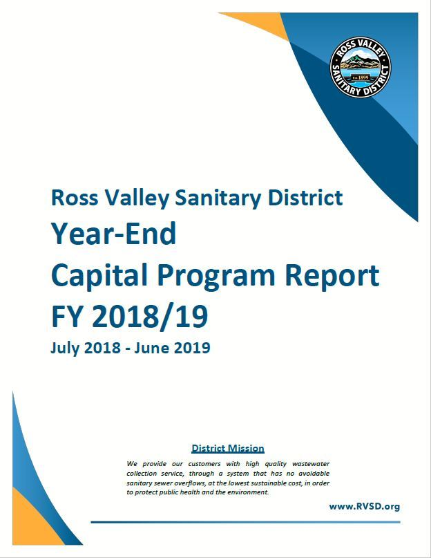 FY 2018-19 Capital Program Report Cover