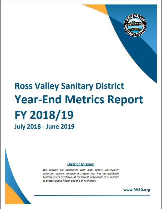 FY 2018-19 Metrics Report Cover